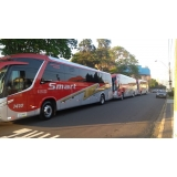 valor do fretamento de ônibus excursão Valinhos