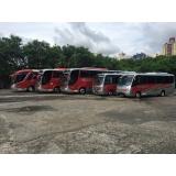 valor do fretamento de ônibus intermunicipal Pedreira