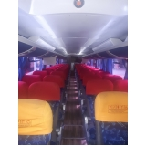 valor do fretamento de ônibus turismo Pedreira