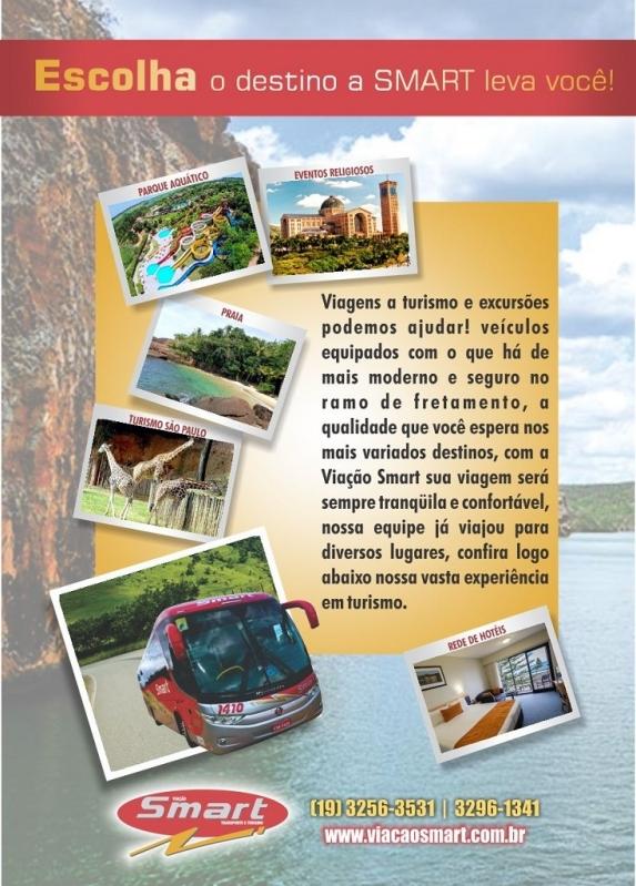 Valor do Fretamento de ônibus para Turismo Campinas - Fretamento de ônibus Interestadual